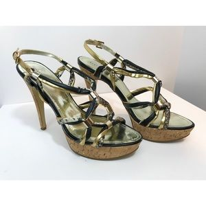 Guess Knotted Cork Sandal